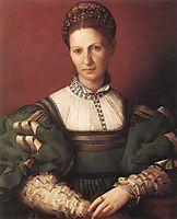 Portrait of a lady in green, bronzino