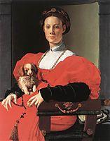 Portrait of a Lady with a Puppy, c.1534, bronzino