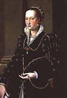 Portrait of Laudomia de- Medici, bronzino