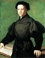 Portrait of Lorenzo Lenzi, c.1528, bronzino