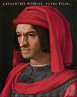 Portrait of Lorenzo the Magnificent, c.1560, bronzino