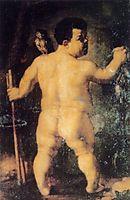 Portrait of Nano Morgante, 1552, bronzino