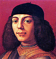 Portrait of Piero di Lorenzo de Medici , bronzino