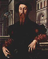 Portrait of Signor Panciatichi Bartolomeo, 1540, bronzino
