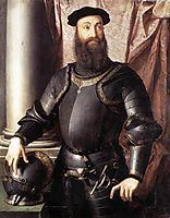 Portrait of Stefano IV Colonna, 1546, bronzino