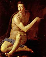 Saint John the Baptist , 1553, bronzino