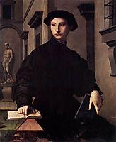 Ugolino Martelli, c.1535, bronzino