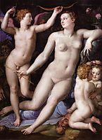 Venus, Cupid and Envy, c.1549, bronzino