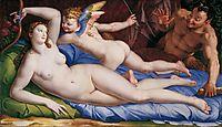 Venus, Cupido and Satyr, bronzino
