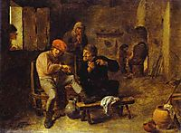 In the Tavern, brouwer
