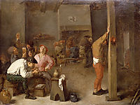 Interior of a Tavern, c.1630, brouwer