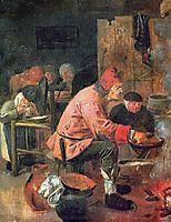 The Pancake Baker, c.1625, brouwer