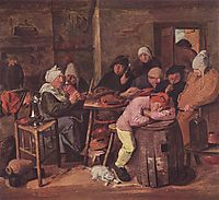 The Schlachtfest, c.1635, brouwer