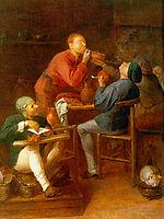 The Smokers or The Peasants of Moerdijk, 1630, brouwer