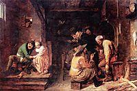 Tavern Scene, c.1635, brouwer