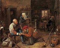 Village barbershop, c.1631, brouwer