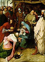 The Adoration of the Kings, 1564, bruegel