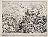 Alpine Landscape, 1556, bruegel