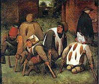 The Beggars, 1568, bruegel