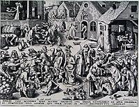 Charity, bruegel