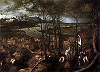 Dark day, February, 1565, bruegel