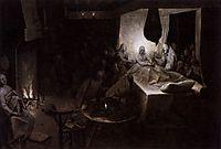Death of the Virgin, 1564, bruegel