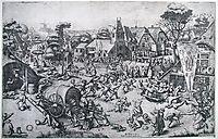 The Fair on St. George-s Day, c.1559, bruegel
