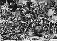 The Fieret, Superbia, 1556-57, bruegel