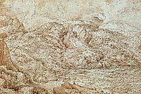 Landscape of the Alps, bruegel