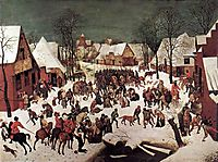 The Massacre of the Innocents, 1565-67, bruegel