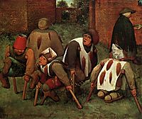 The mutilated or infirm, 1568, bruegel