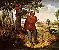 The peasant and the birdnesters, 1568, bruegel