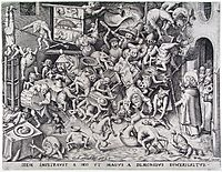 The same God so that he obtained of the Magus was by demons be pulled in pieces, bruegel