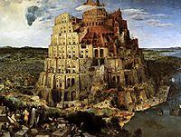 The Tower of Babel, 1563, bruegel