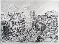 View of Tivoli, 1556, bruegel