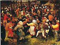 The Wedding Dance in the open air, c.1566, bruegel