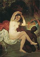 Bathsheba, 1832, bryullov