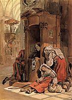 Confession of an Italian Woman, 1830, bryullov
