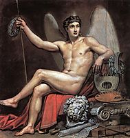 Genius of Art, 1820, bryullov