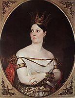 Giuseppina Ronzi de Begnis, 1835, bryullov