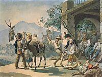Grape Harvest Celebration, 1827, bryullov
