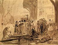 Harbour in Constantinople, 1835, bryullov
