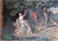 Hylas and the Nymphs, 1827, bryullov