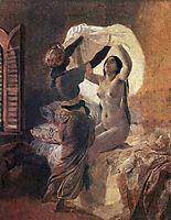 In a Harem. , 1835, bryullov