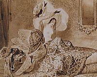 In a Harem. , 1845, bryullov