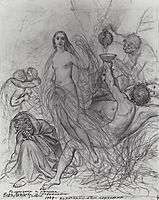 Innocence, leaving the Earth, 1839, bryullov