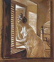 Italian Woman Blowing a Kiss, 1826, bryullov
