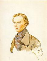 Ivan  Riboper, 1840, bryullov