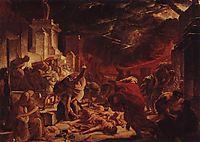 The Last Day of Pompeii, 1828, bryullov