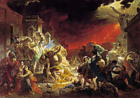 The Last Day of Pompeii, 1833, bryullov